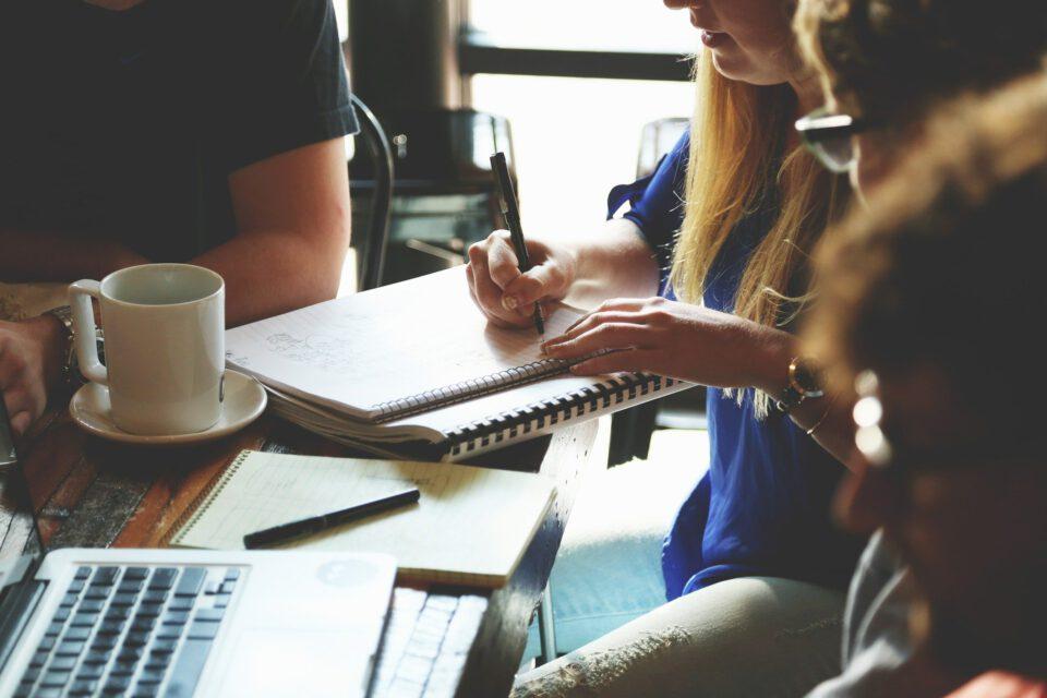 Zusammen gestalten und erreichen im Workshop
